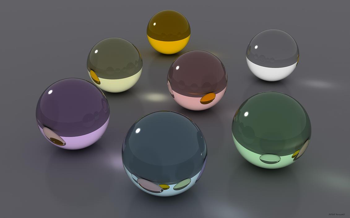 Simple Sphere Scene by kuzy62