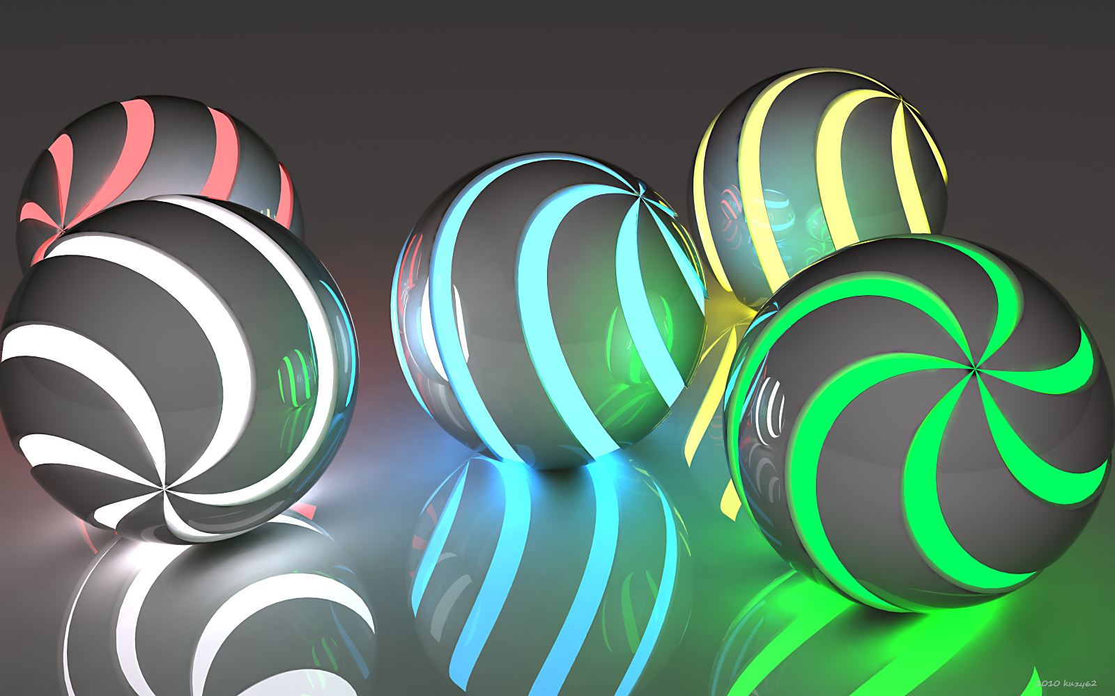 Spiral Orbs by kuzy62