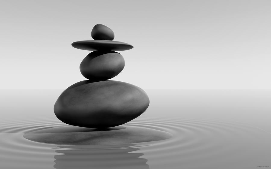 Zen Stones by kuzy62