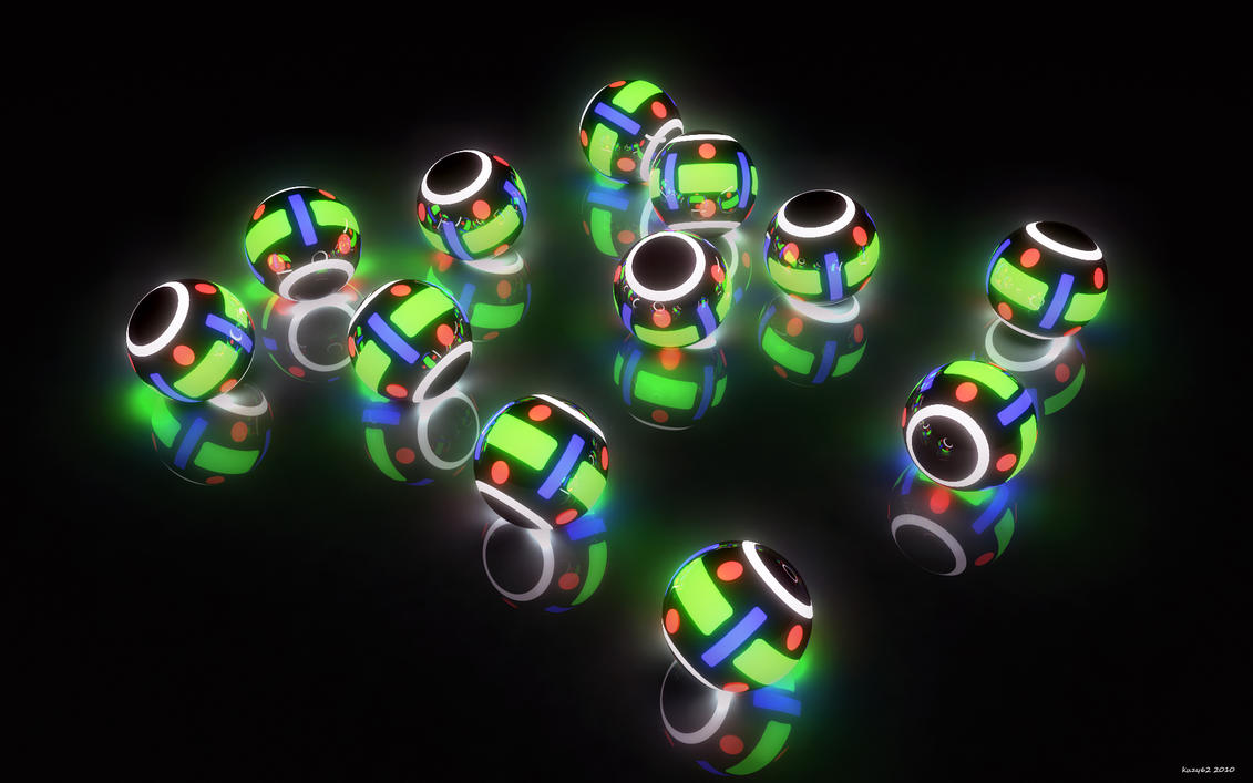 Techno-Color Ballz by kuzy62