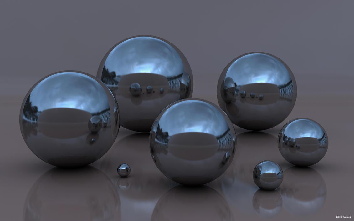 Big Sky Spheres by kuzy62