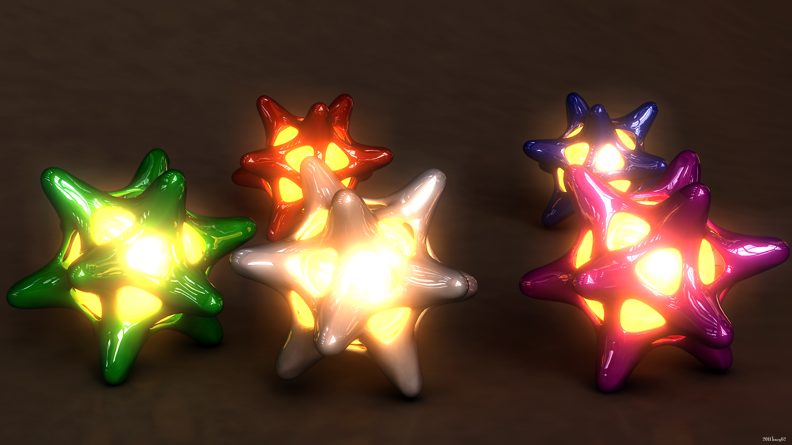 Lighted Jacks by kuzy62
