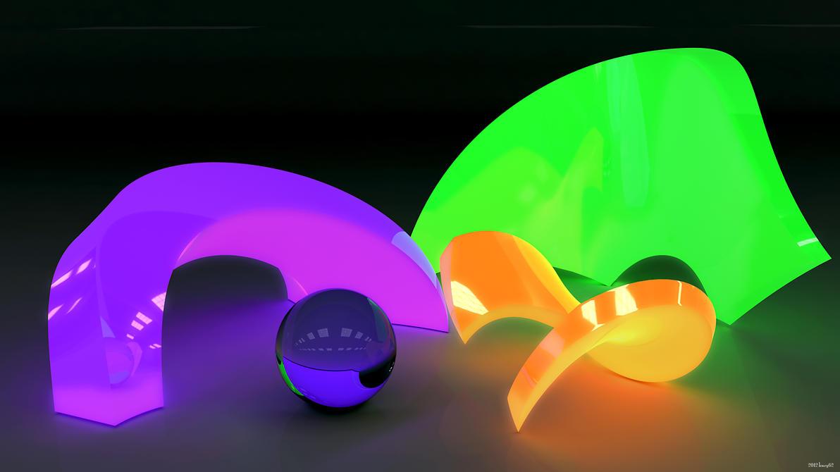 Neon Glow by kuzy62
