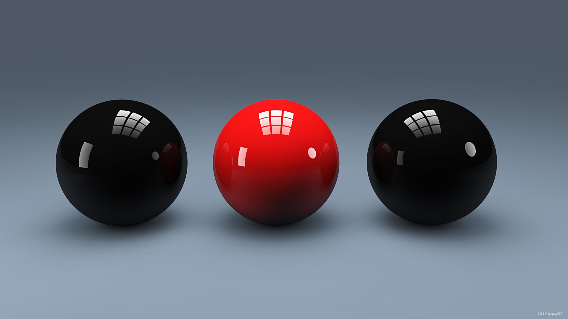 Studio Spheres by kuzy62