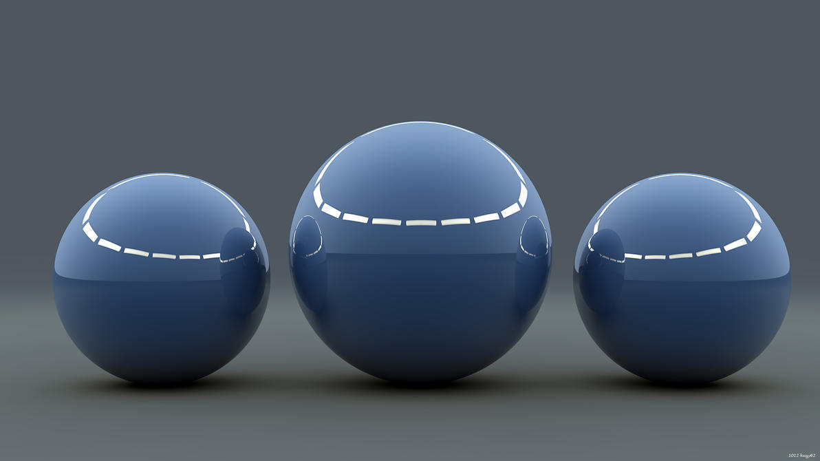 Studio Spheres by kuzy62