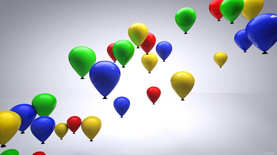 Balloons by kuzy62