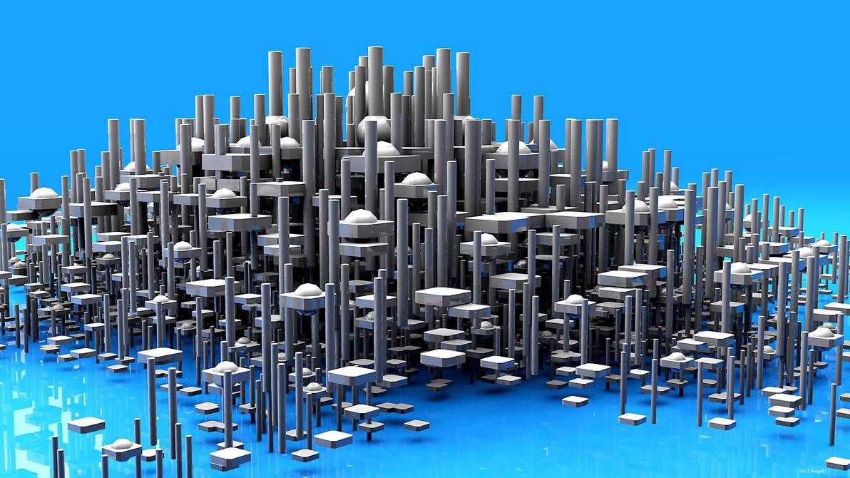 Cityscape by kuzy62