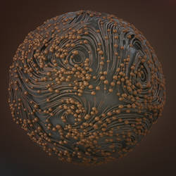 Rusted Sphere by kuzy62