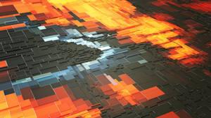 Lava blocks