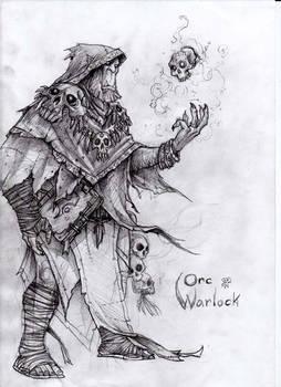 Orc Warlock WIP