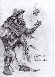 Orc Warlock WIP by atryl