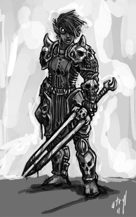 WoW - Troll Detah Knight by atryl