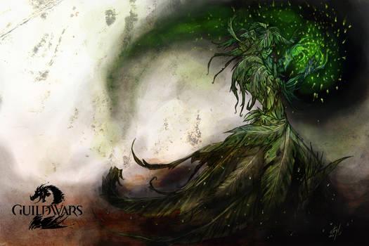Guild Wars 2 - Sylvari Necromancer by atryl