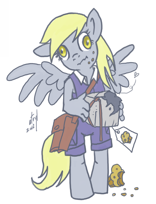 Derpy Hooves by atryl