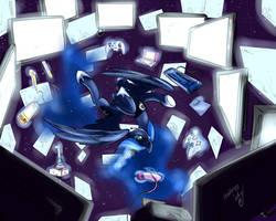 Gamer Luna by atryl