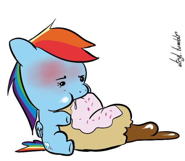 Dashie's Donut Disaster by atryl
