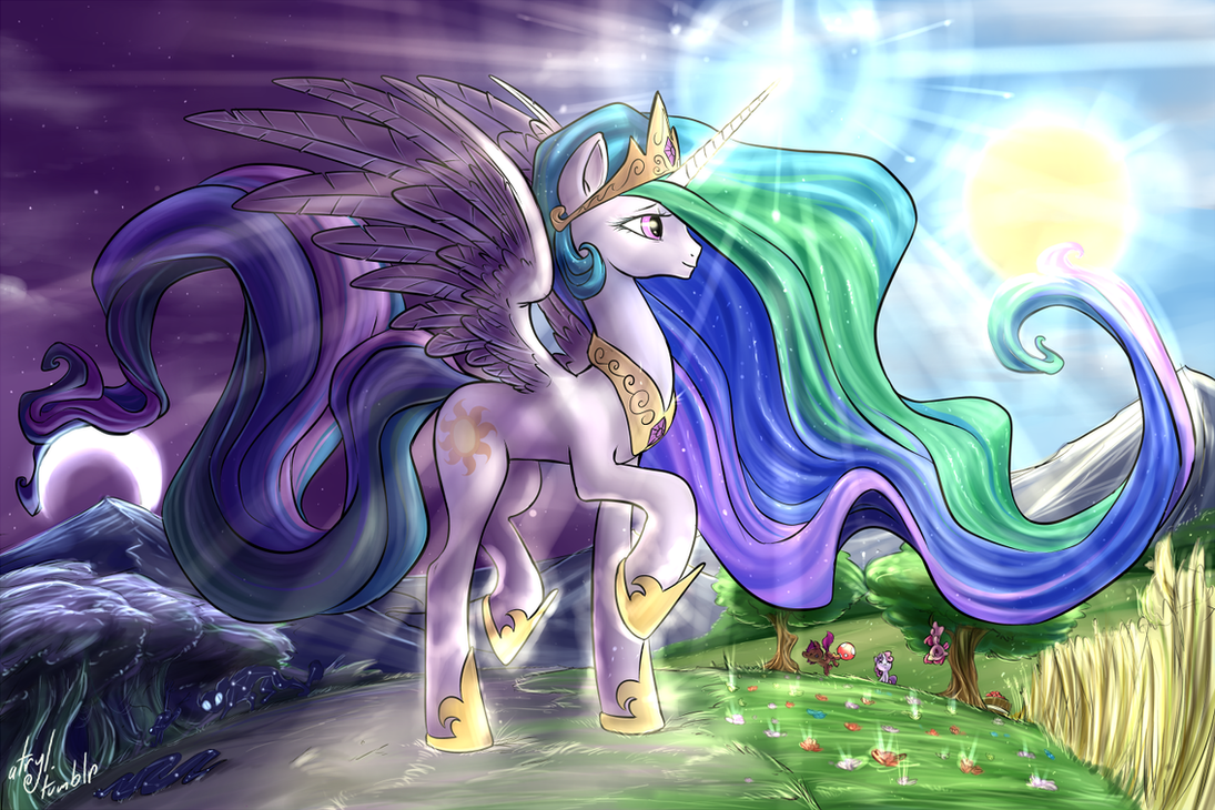 Princess Celestia by atryl