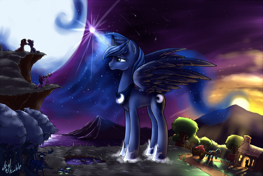 Princess Luna by atryl