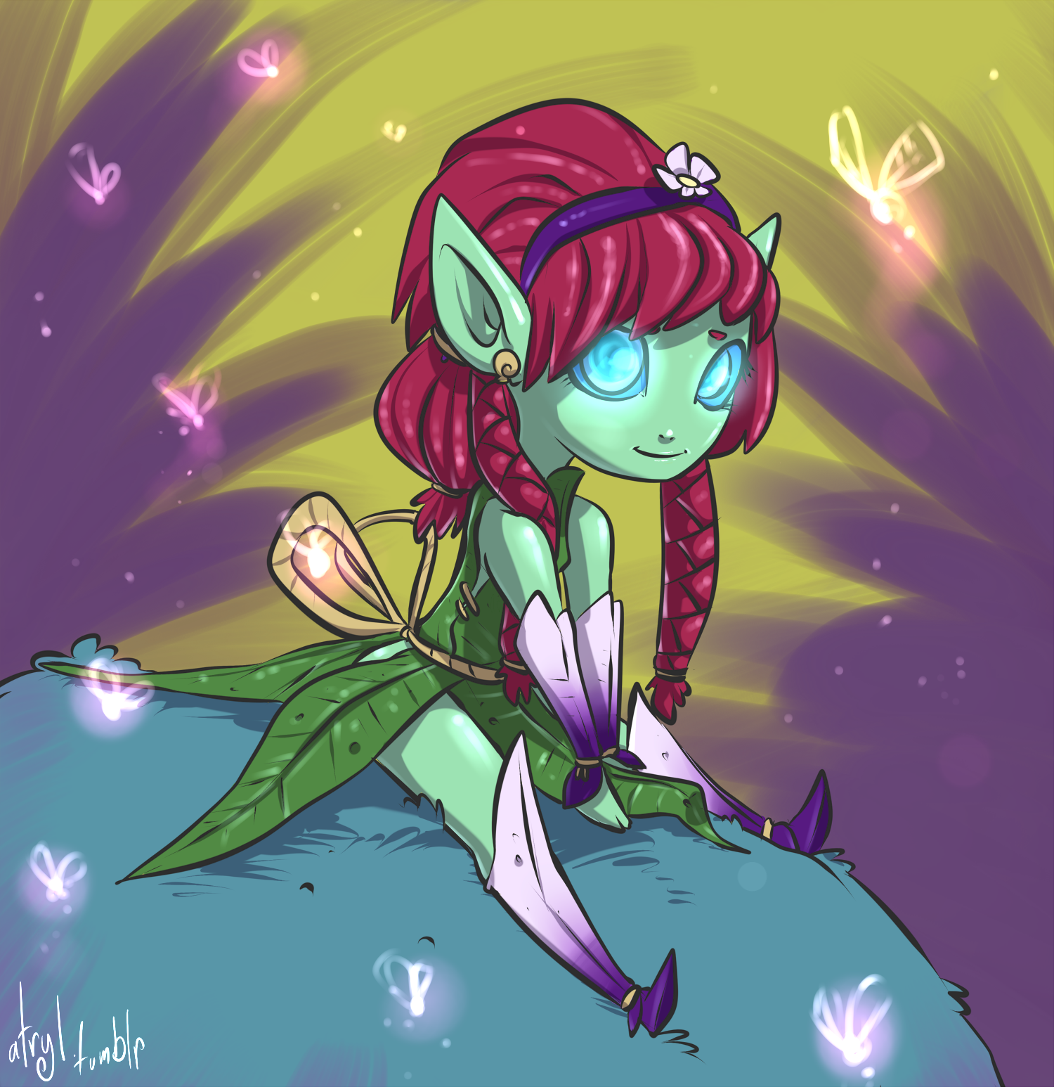 Commission - Little Elf by atryl