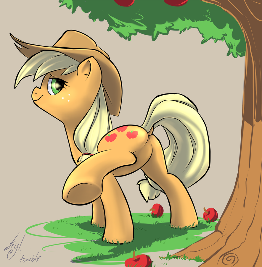 Applebutt by atryl