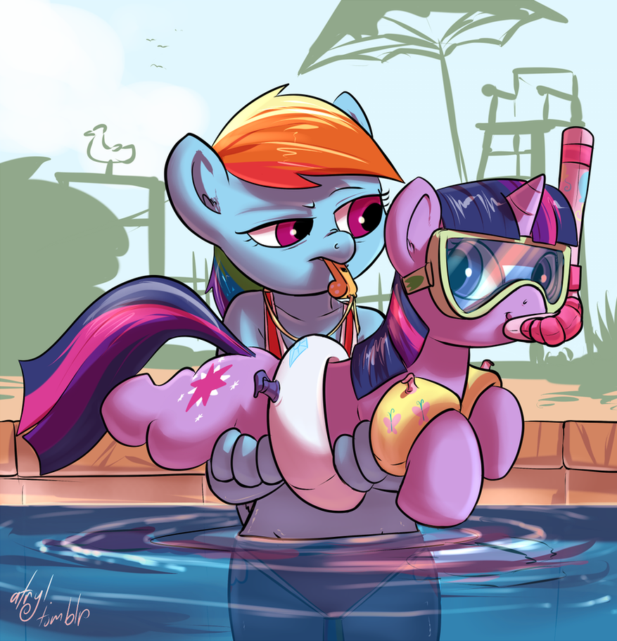 Pool Lessons by atryl
