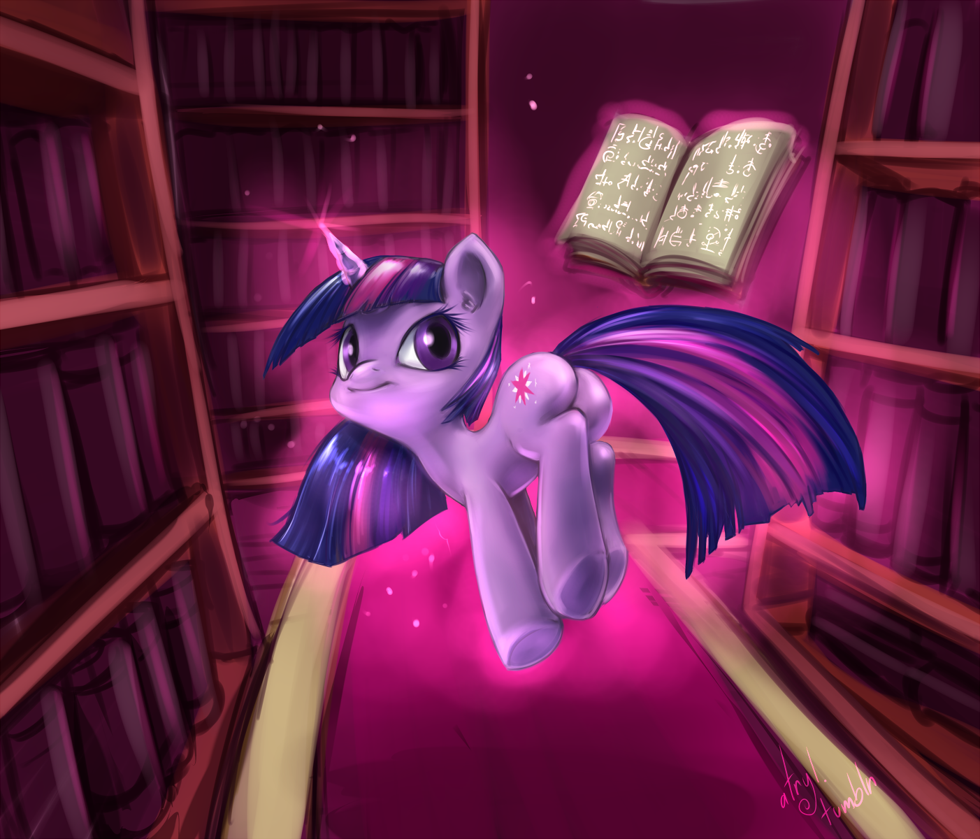 Enchanted Library by atryl