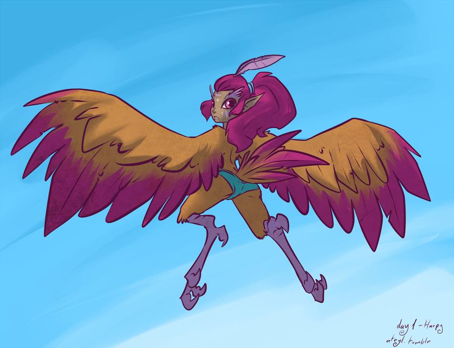 01 - Harpy by atryl