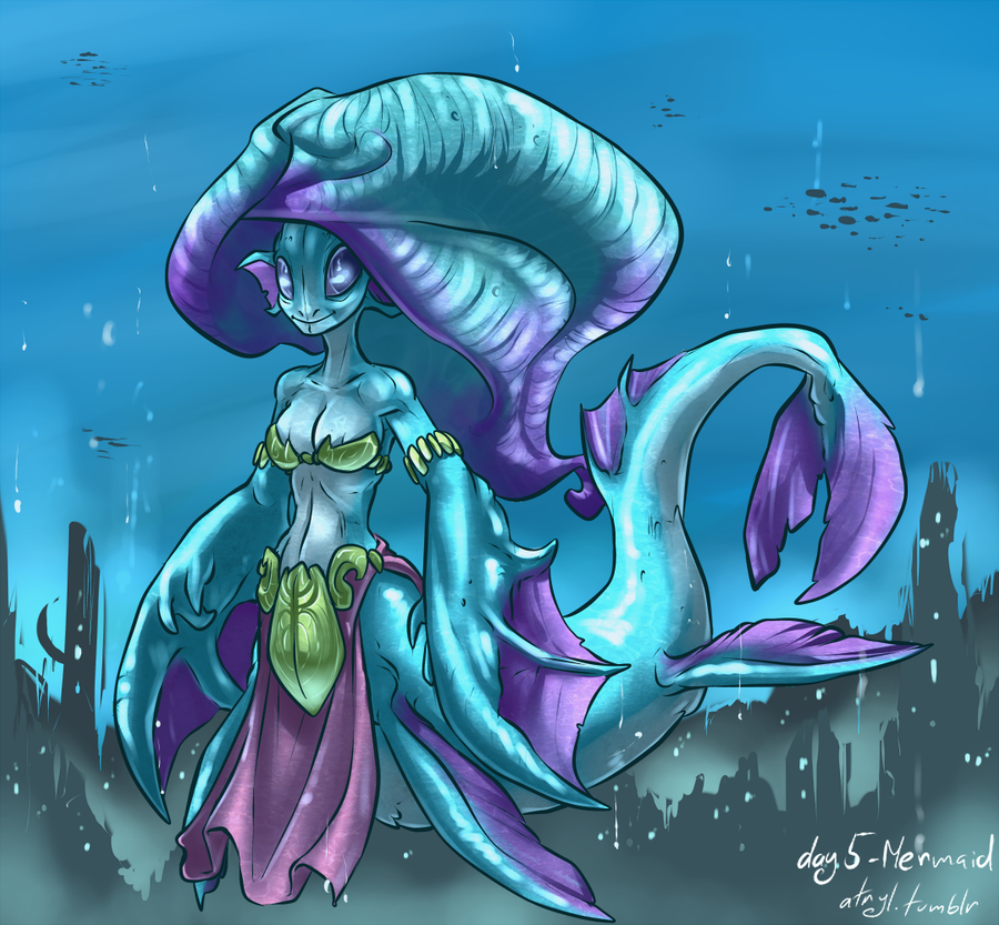 05 - Mermaid by atryl