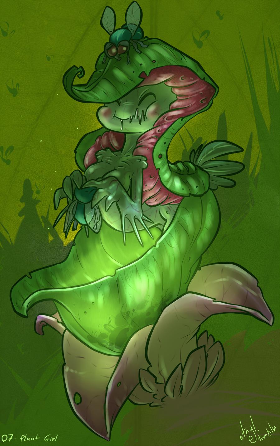 07- Plant Girl by atryl