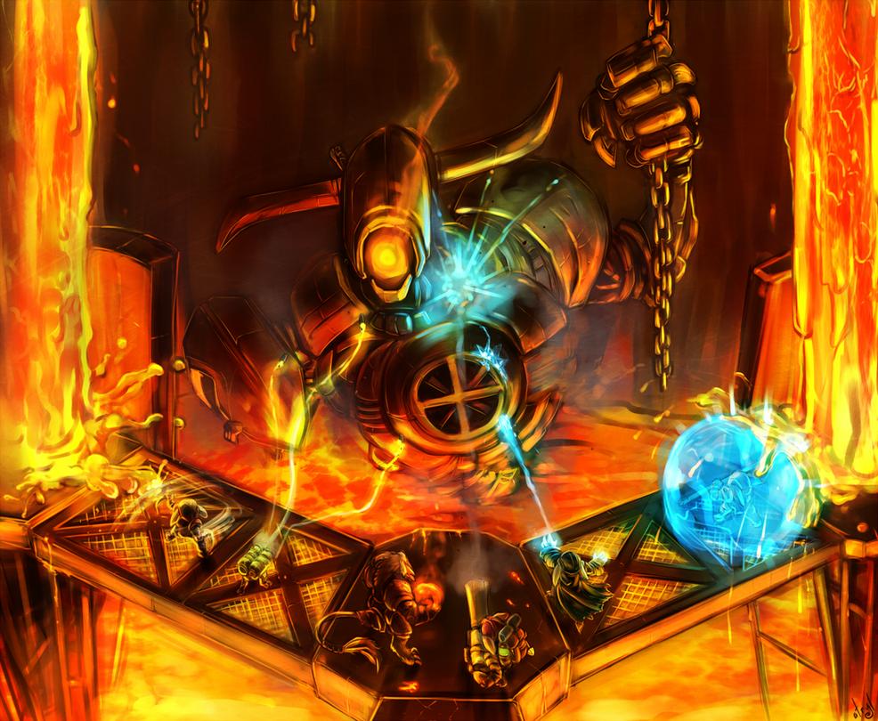 The Iron Forgeman by atryl