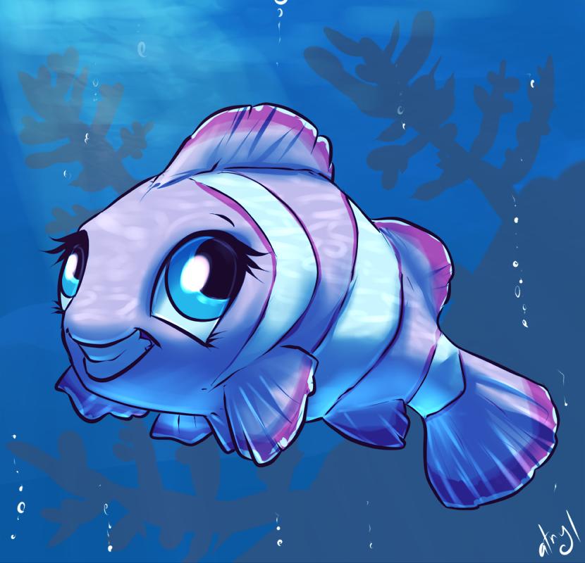 Pinkie Fish by atryl