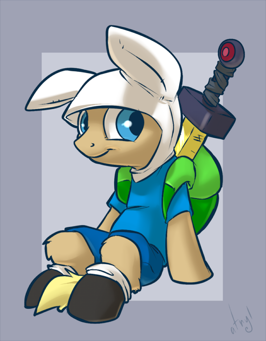 Finn the Pony by atryl