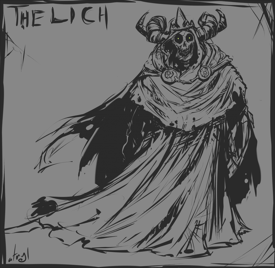The Lich by atryl