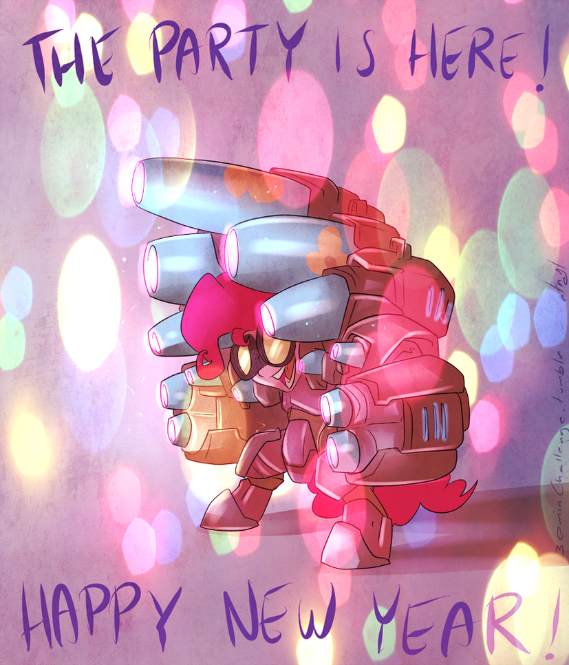 30min Challenge - THE PARTY IS HERE! by atryl