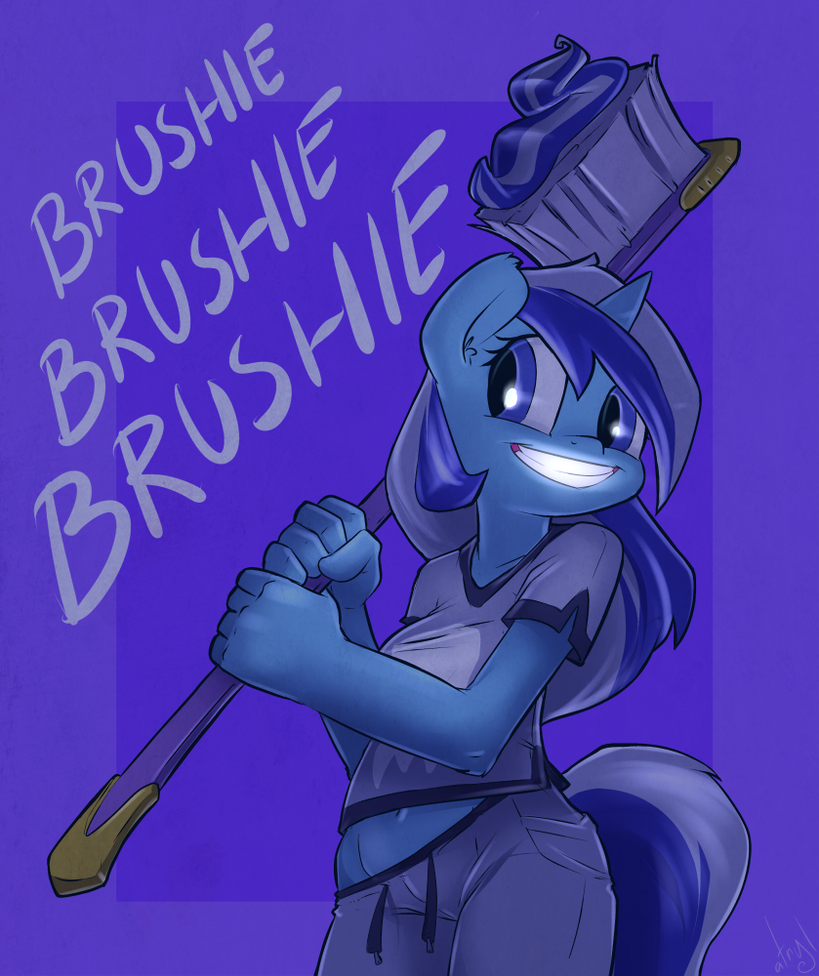 Brushie Brushie Brushie by atryl