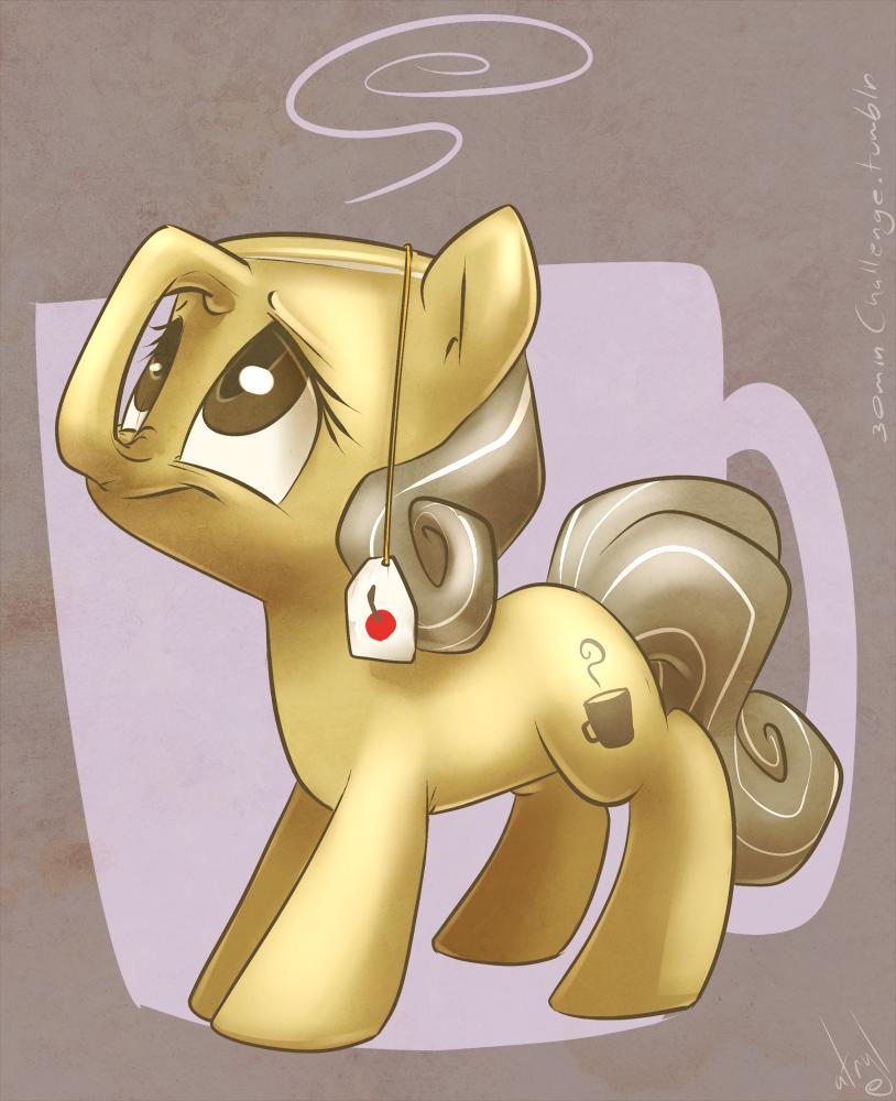 30min Challenge - Teacup Pony by atryl