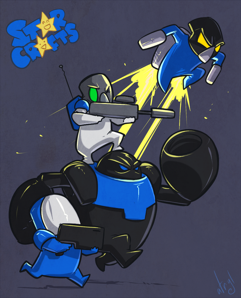 Starcrafts - Terran by atryl