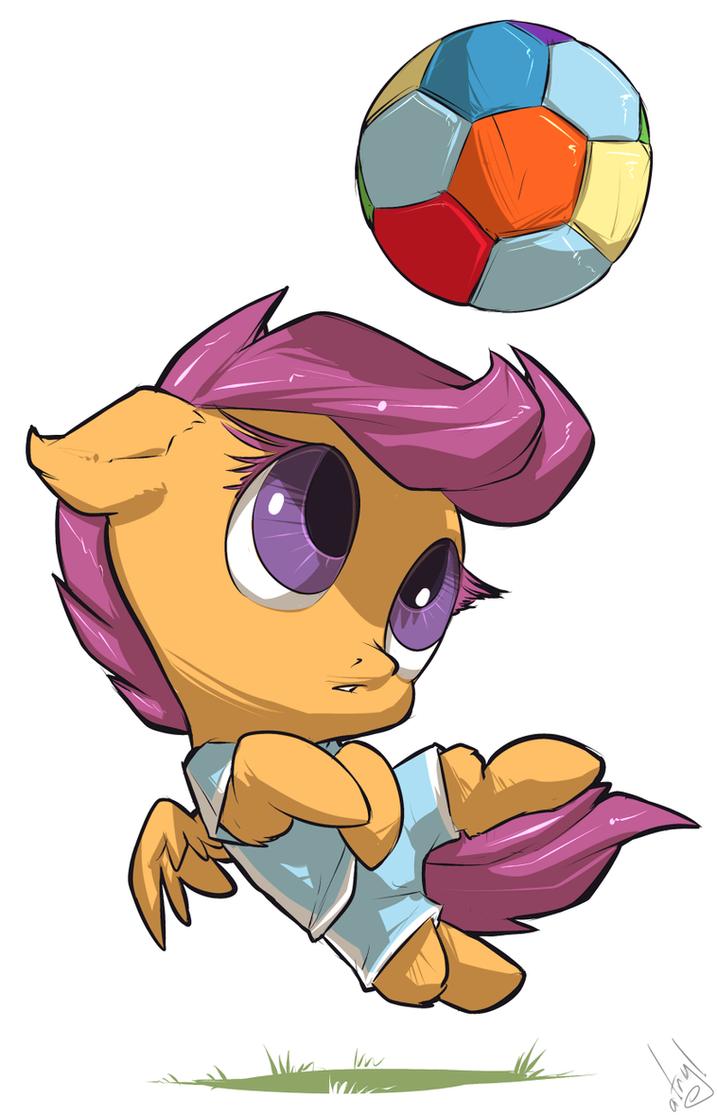 Scootball by atryl