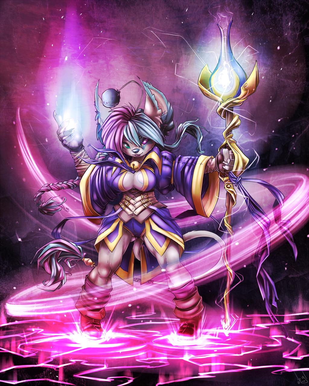 User of Magic by atryl