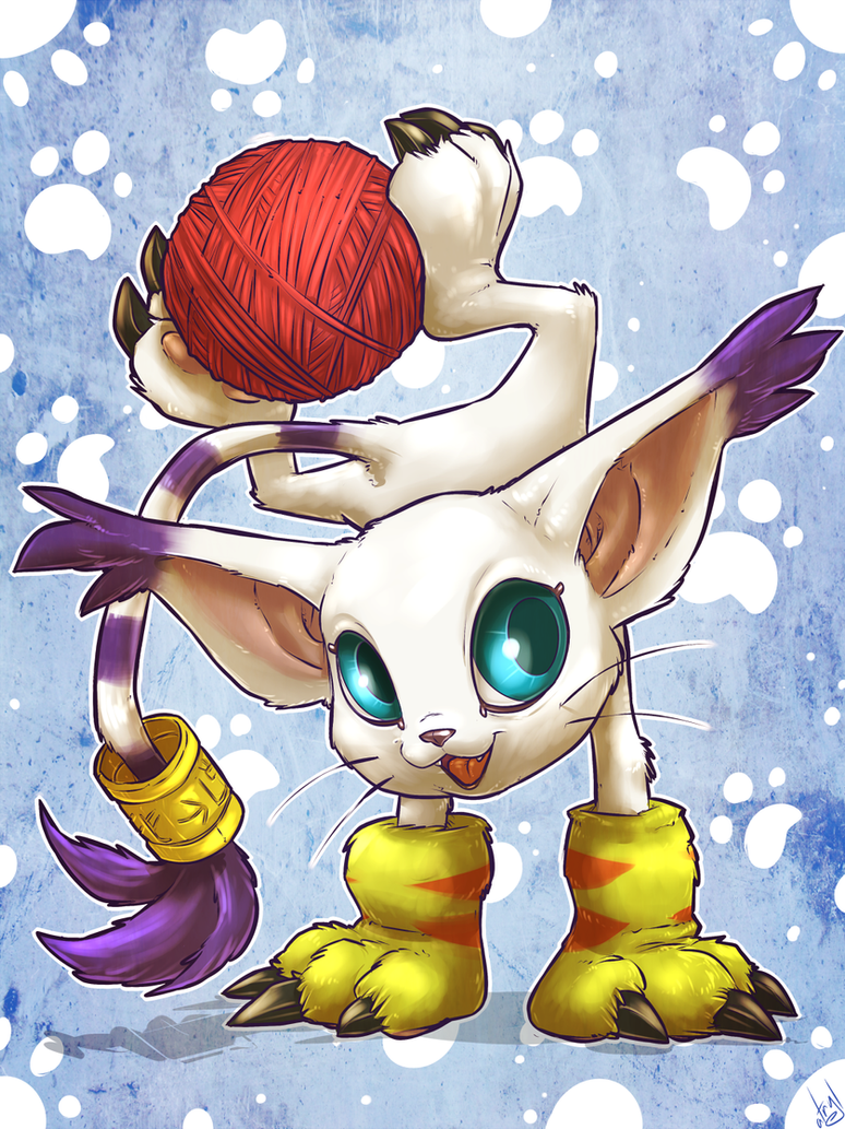 Gatomon by atryl