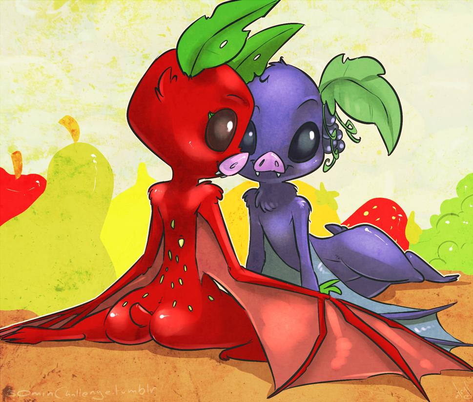 30min Challenge - Fruit Bats by atryl