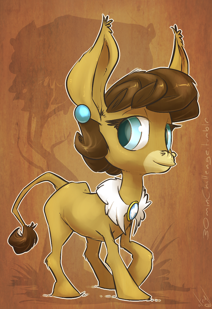 30min Challenge -  Matilda the Donkey by atryl