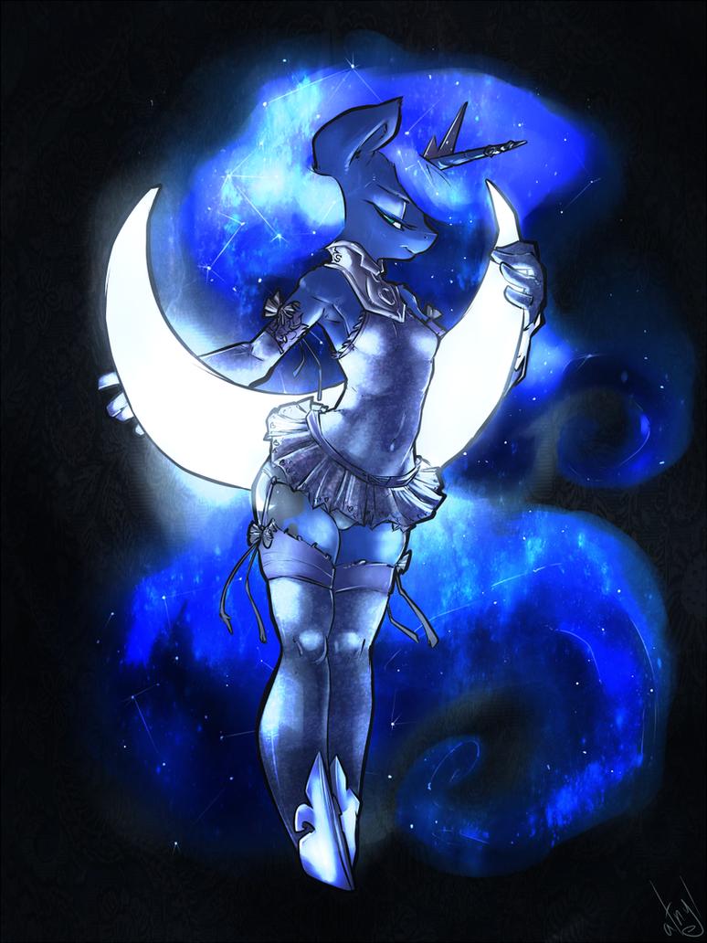 Crescent Moonlight by atryl
