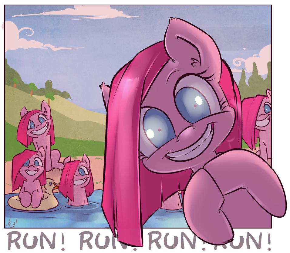 RUN RUN RUN by atryl