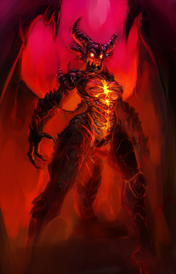 Deathwing - WiP 3 by atryl on DeviantArt