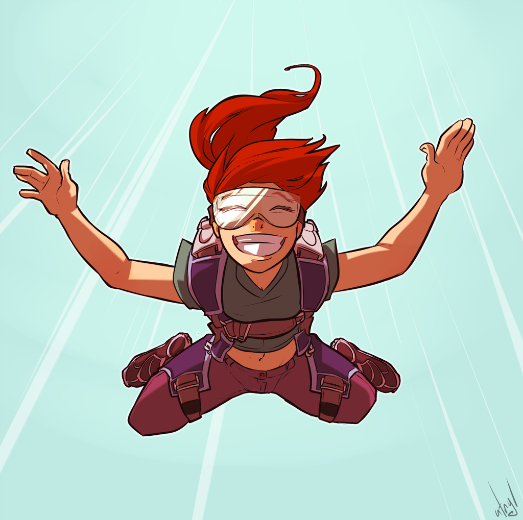 Free Fall by atryl