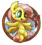 Fluttershy Badge