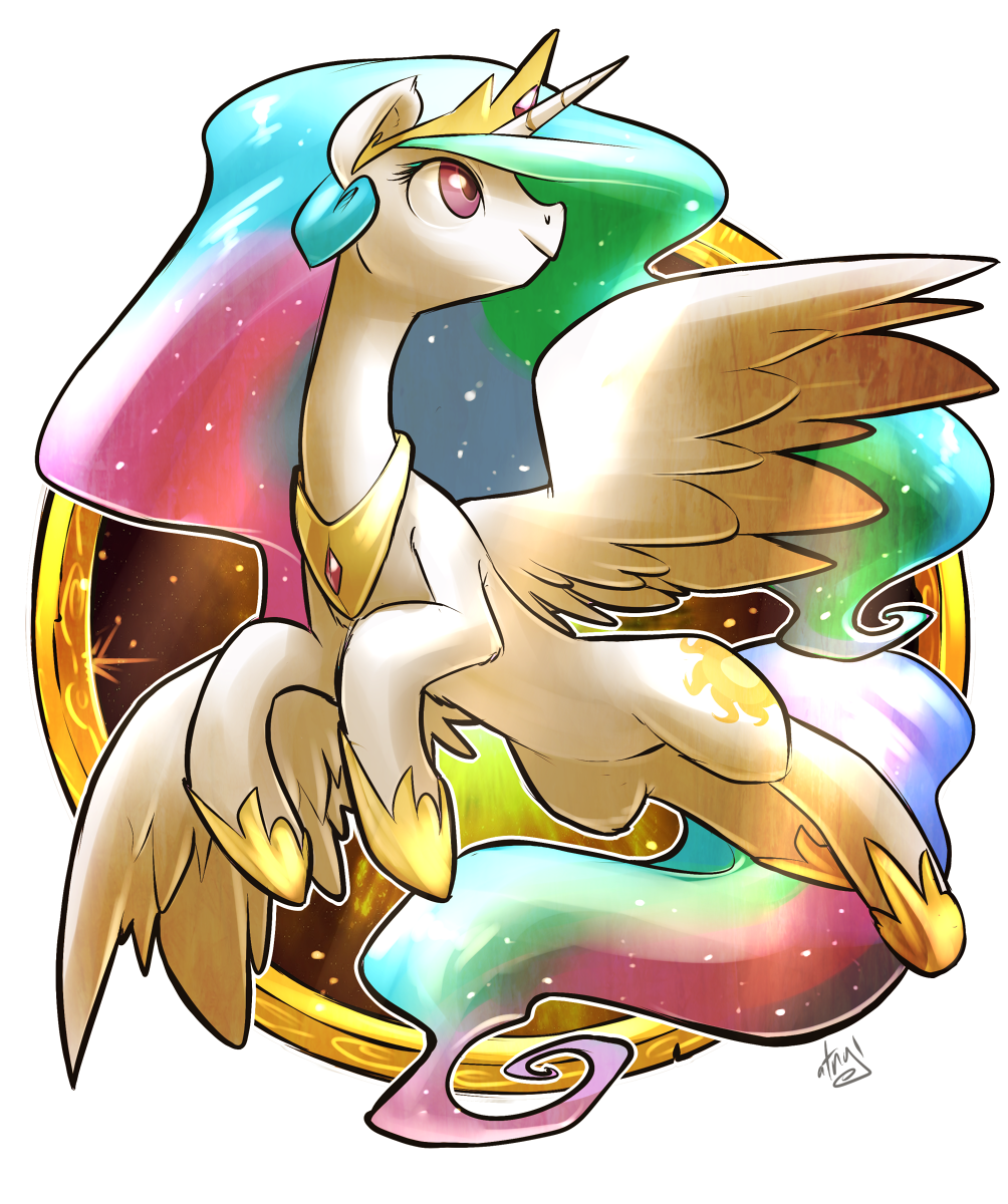 Celestia Badge by atryl