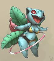 Ivysaur by atryl