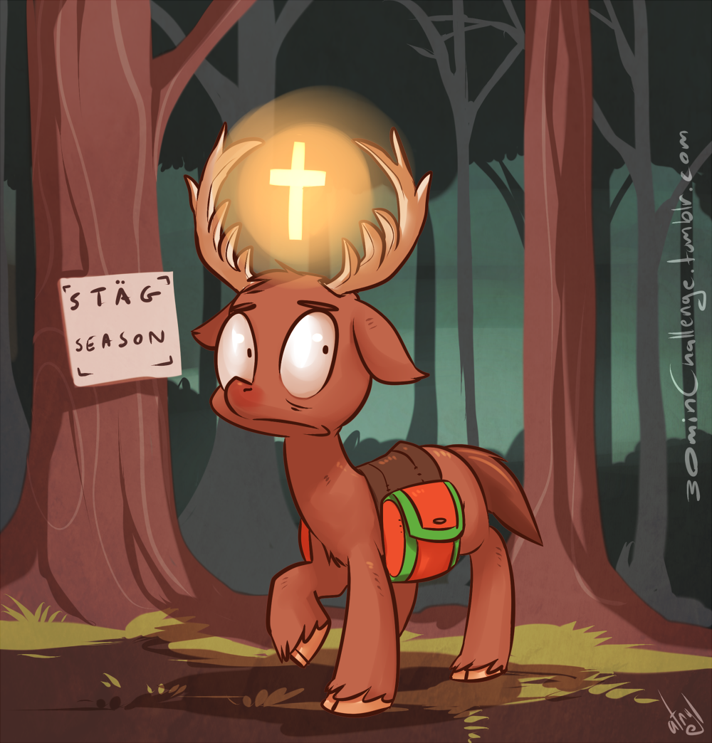 30min Challenge - Jagermeister Pone by atryl